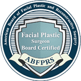 Facial plastic surgeon board certified