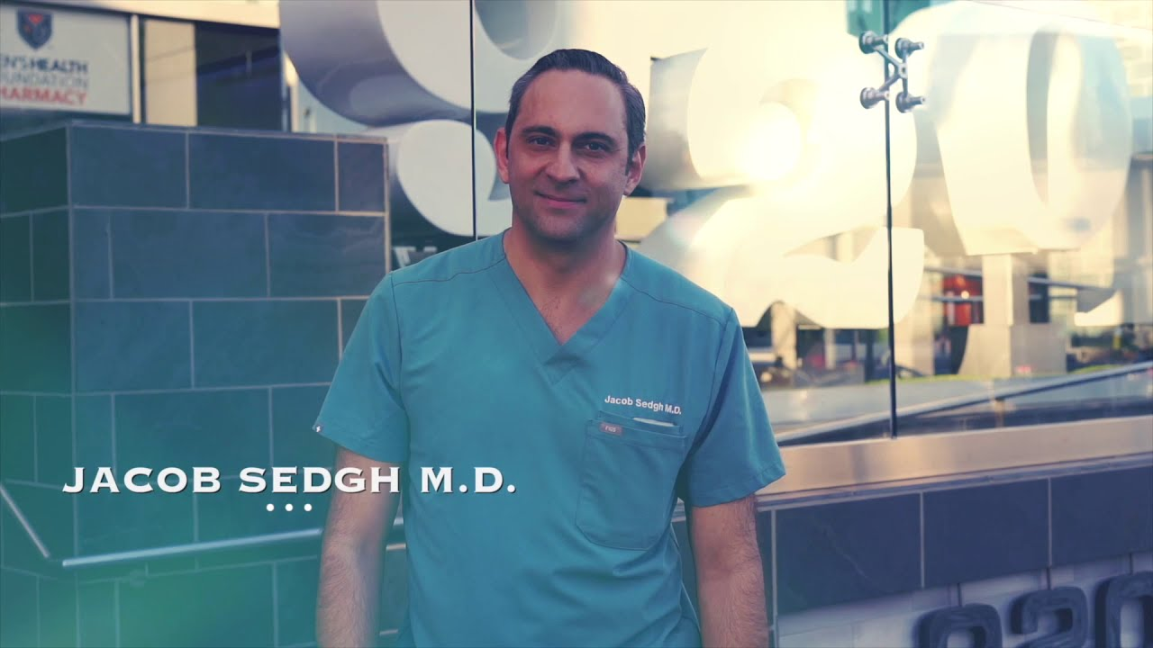 Dr. Sedgh in welcome to Sedgh plastic surgery video